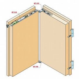 SERIES 100 THE FOLDING DOOR WITH LEAF